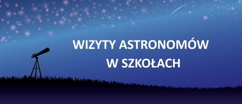 Wizyty astronomów w szkołach
