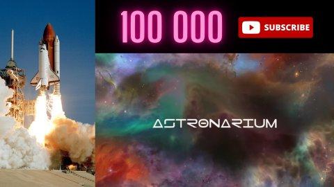 100 tysięcy subskrypcji Astronarium na YouTube