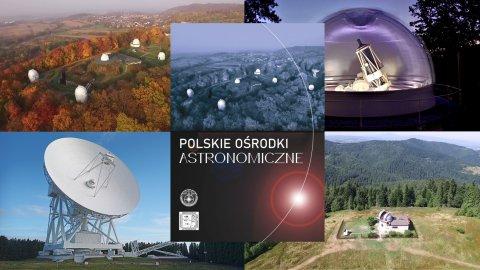 Polskie ośrodki astronomiczne