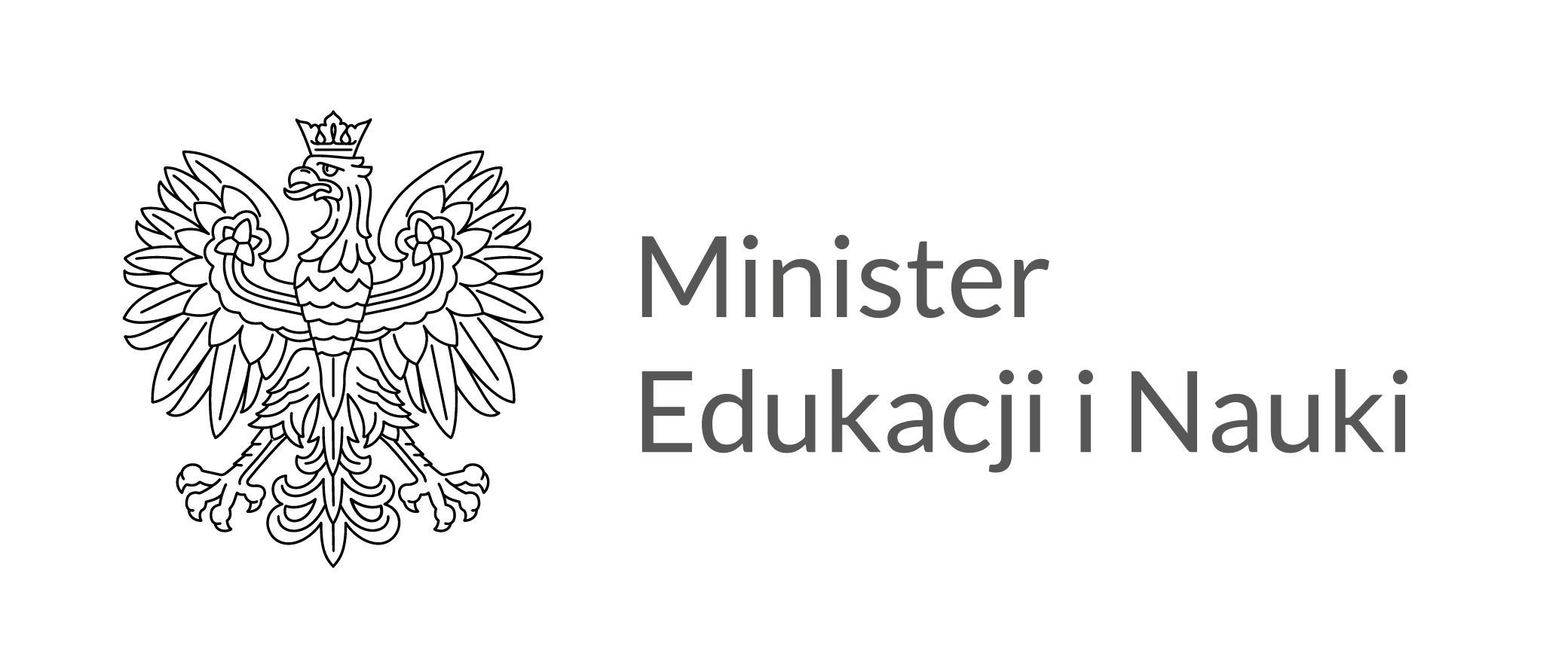Logo Ministra Edukacji i Nauki