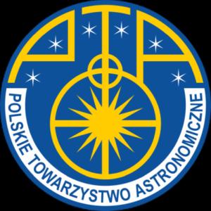 Logo Polskiego Towrzystwa Astronomicznego (PTA)