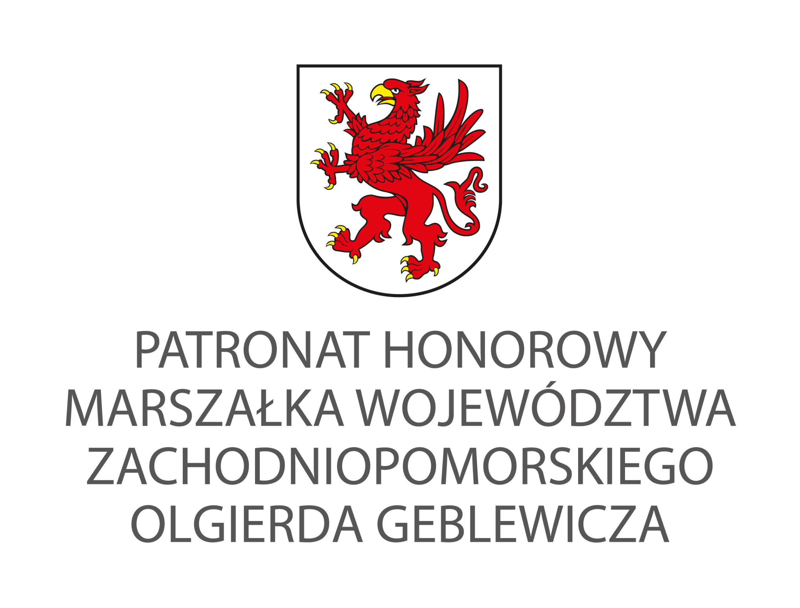 Patronat Honorowy Marszałka Województwo Zachodniopomorskiego Olgierda Geblewicza